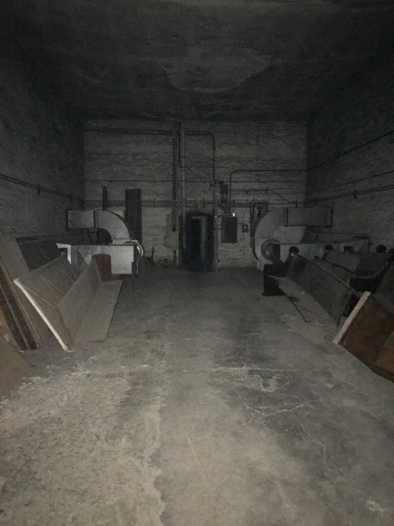 storage room Ohio State Reformatory