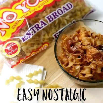 Easy Nostalgic Chicken Cacciatore with No Yolks