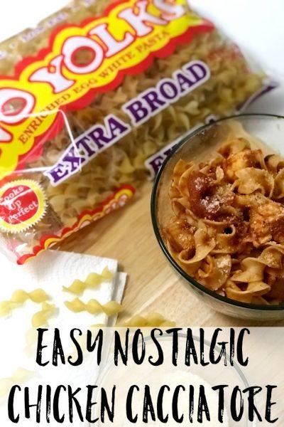 Easy Chicken Cacciatore with No Yolks Recipe