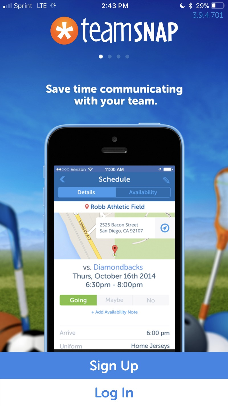 TeamSnap app for teams and groups