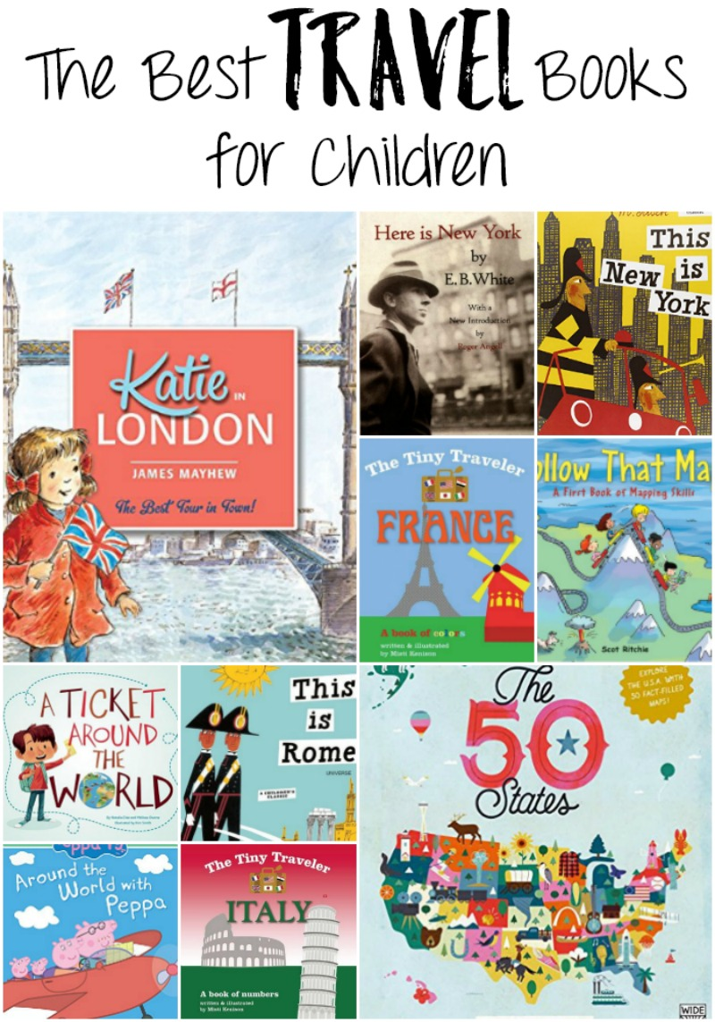 The Best Travel Books for Children