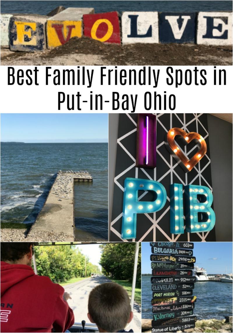 Best Family Friendly Spots in Put-in-Bay Ohio