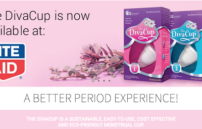 DivaCup Now at Rite Aid (plus a coupon!)