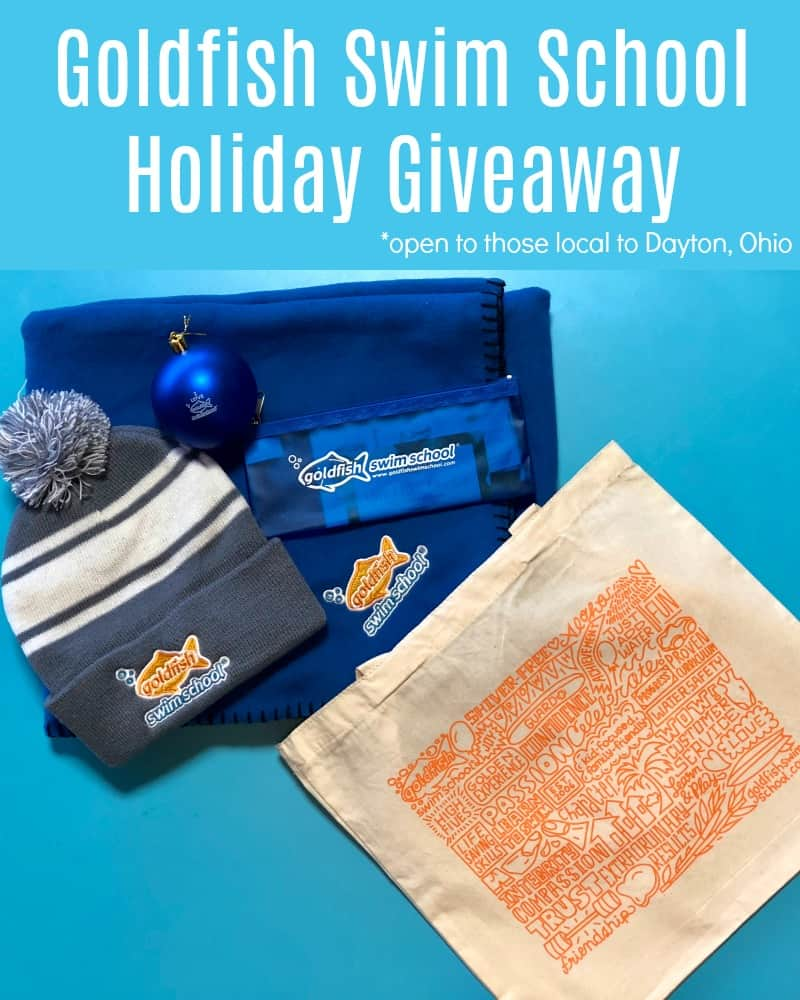 Goldfish Swim School Dayton Ohio holiday giveaway