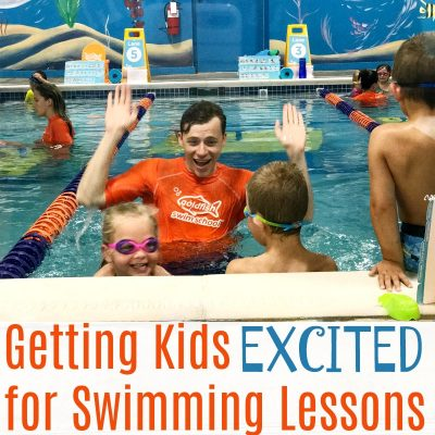 Getting Kids Excited for Swimming Lessons