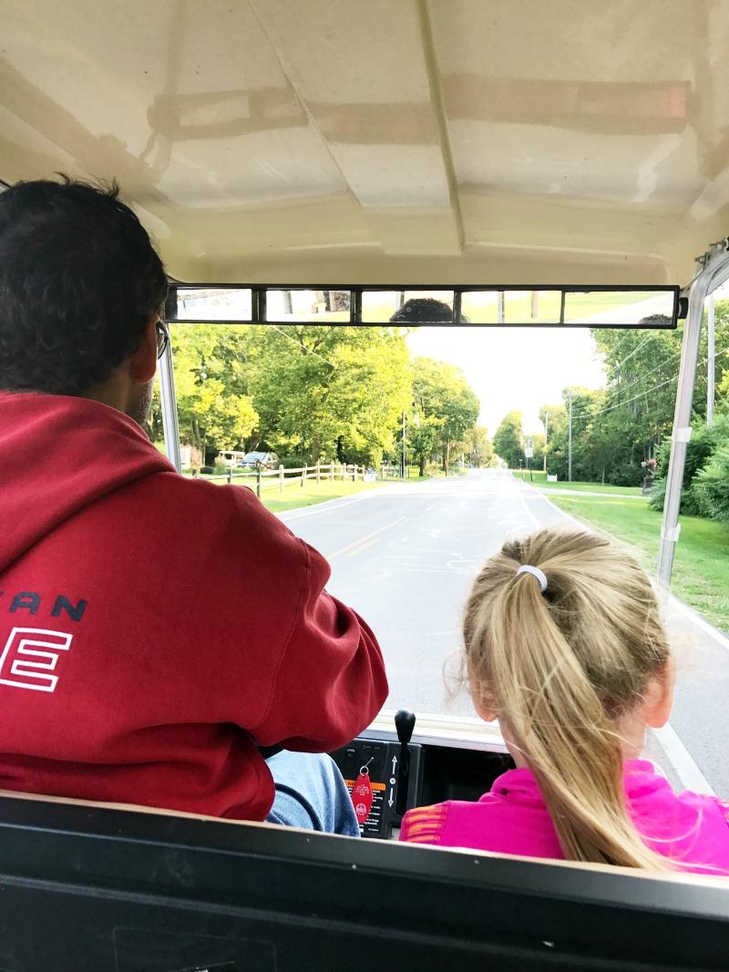 Put-in-Bay golf cart rental