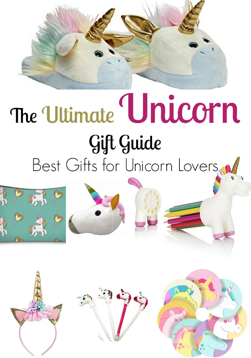 The Ultimate Unicorn Gift Guide - Best Gifts for Unicorn Lovers
