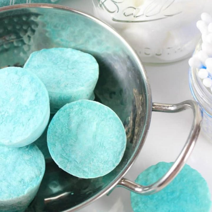 DIY VapoRub Shower Steamers
