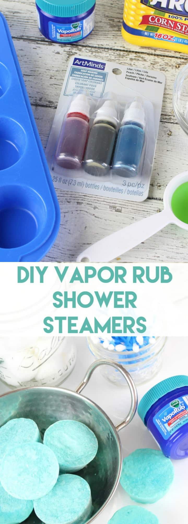 VapoRub shower steamers you can make at home - DIY shower steamers