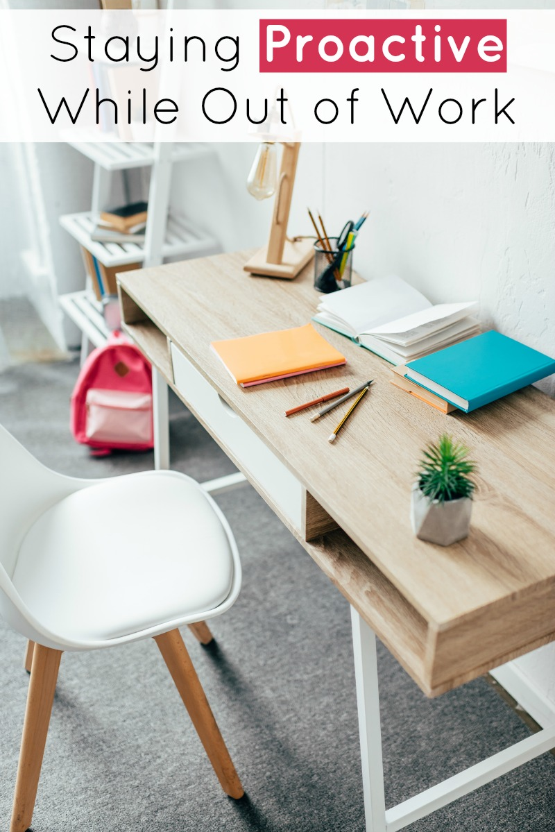 Top view of wooden desk with chair and notebooks, minimalist lifestyle office space