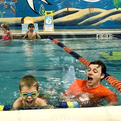 Growing Up Confident With Goldfish Swim School