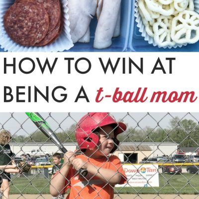 How To Win at Being a T-Ball Mom