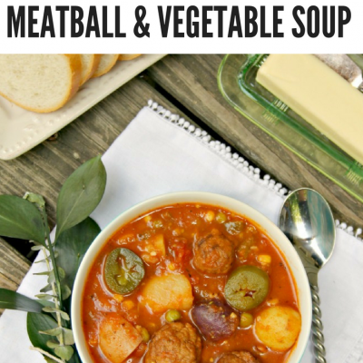 Instant Pot Meatball Vegetable Soup