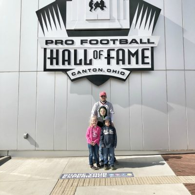 Family Fun and Motivation at the Pro Football Hall of Fame in Canton, Ohio