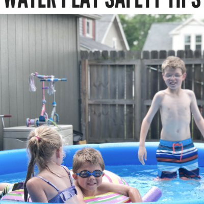 Summer Backyard Water Play Safety Tips