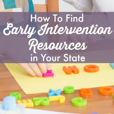 How to Find Early Intervention Resources in Your State