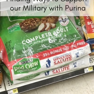 Finding Ways to Support our Military with Purina
