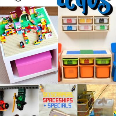Awesome Ways to Organize LEGOs