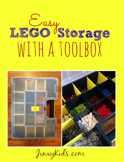Easy LEGO Storage with a Toolbox