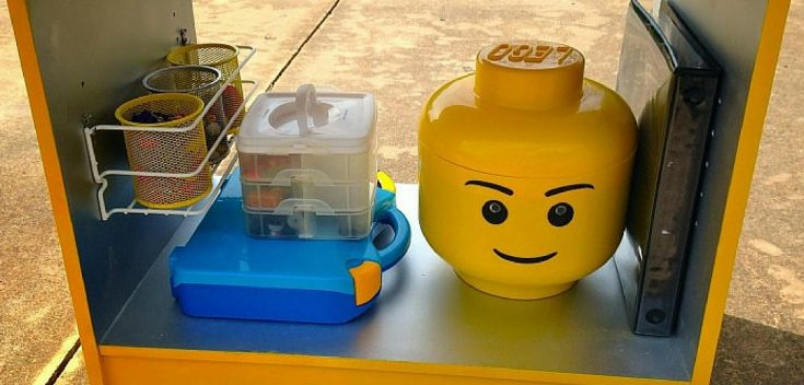 Cheap & Easy DIY LEGO Storage