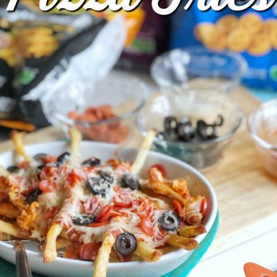 Food Truck Style Pizza Fries