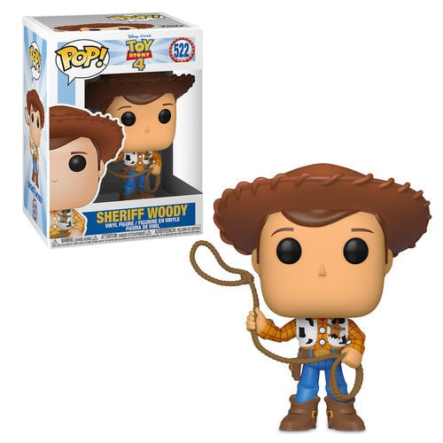 Sheriff Woody Pop! Vinyl Figure by Funko - Toy Story 4