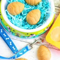 Peanut Butter Easter Egg Treats for Dogs