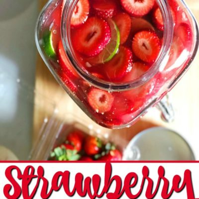 How To Make A Gallon of Strawberry Margarita