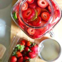 Strawberry Margarita by the Gallon