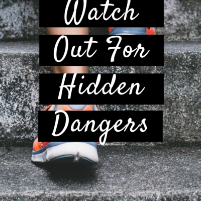 Out For A Run? Watch Out For Hidden Dangers
