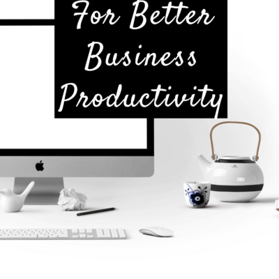 Computer Tips For Better Business Productivity