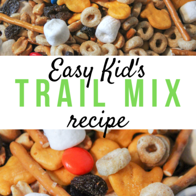 Easy Kid's Trail Mix Recipe