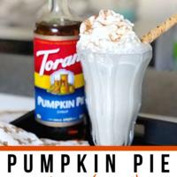 Pumpkin Pie Boozy Milkshake