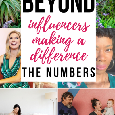 Beyond The Numbers: Influencers Making a Difference