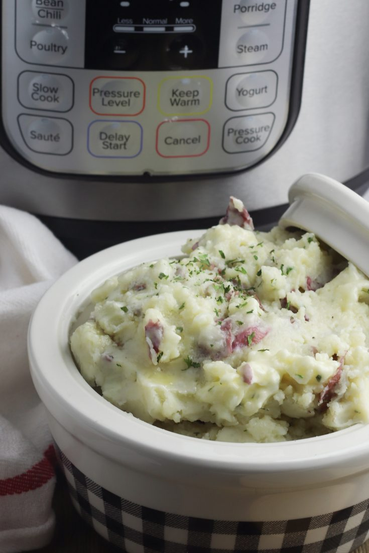 Easy Instant Pot Mashed Potatoes