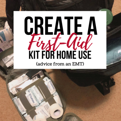 Create A First-Aid Kit For Home Use