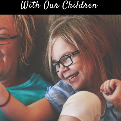 No Disguising Matters: Discussing Sensitive Issues With Our Children