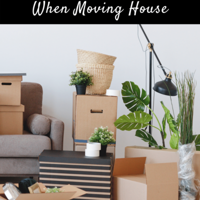 How To Minimize Stress When Moving House