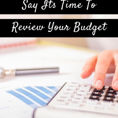 These Money Triggers Say Its Time To Review Your Budget