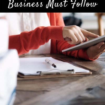 Rules Every Online Business Must Follow