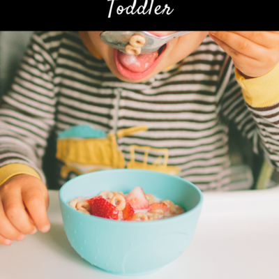 Top Tips for Feeding Your Toddler