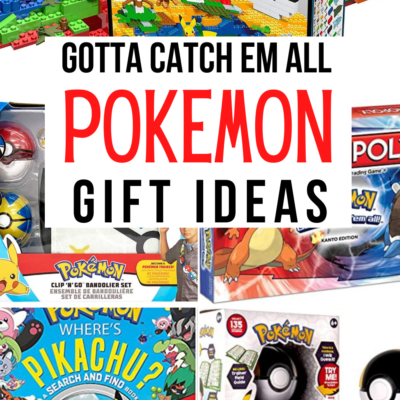 Gotta Catch Em All! Pokemon Gift Ideas
